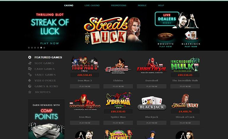 Bet365 Casino Streak Of Luck