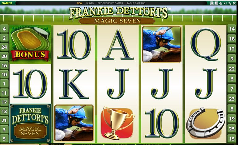 Bet365 Frankie Dettoris Magic Seven