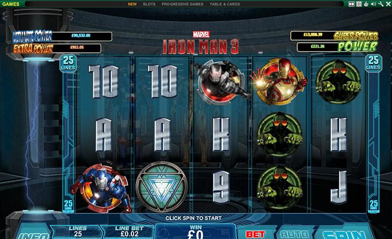 Bet365 Iron Man Spins