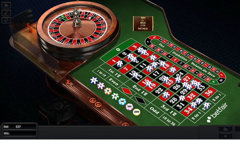 Betfair Casino Roulette