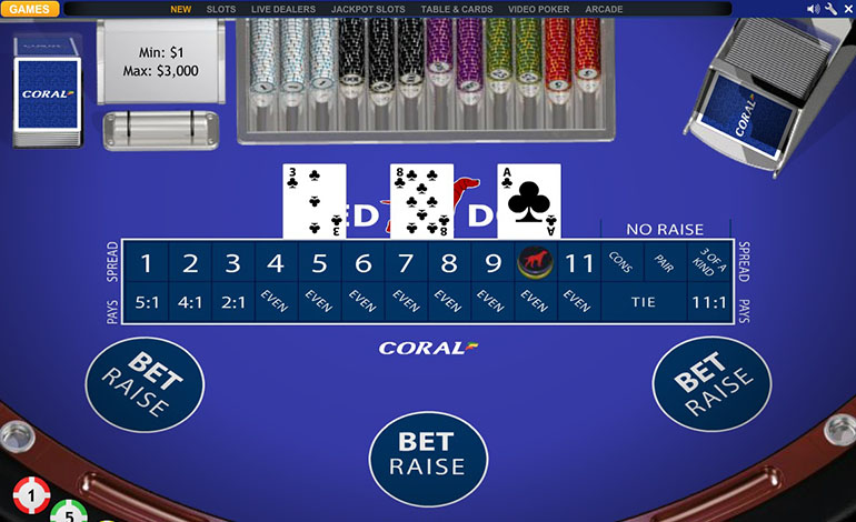 Red Card Casino Game - Review and Free Online Game