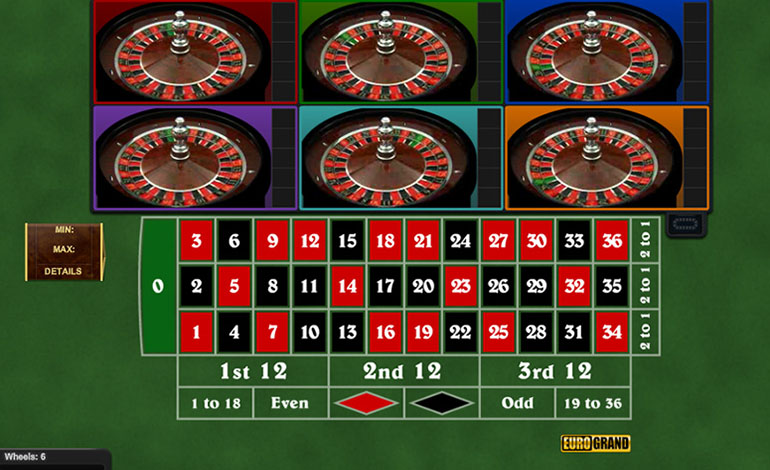 Eurogrand Multi Roulette Play