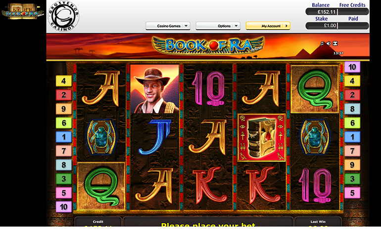 Grosvenor Casino Book Of Ra Spins