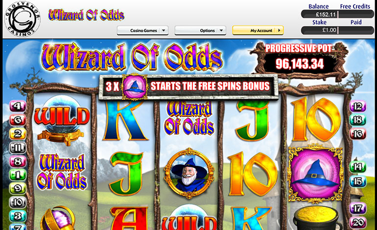 Grosvenor Casino Spins Wizard Of Odds