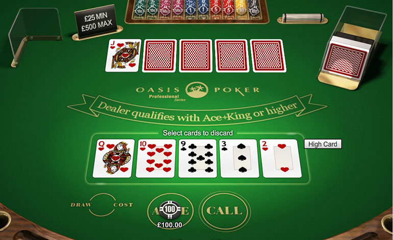Intercasino Oasis Poker Table