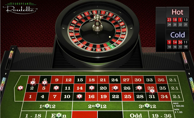 Intercasino Roulette Hot Cold Info