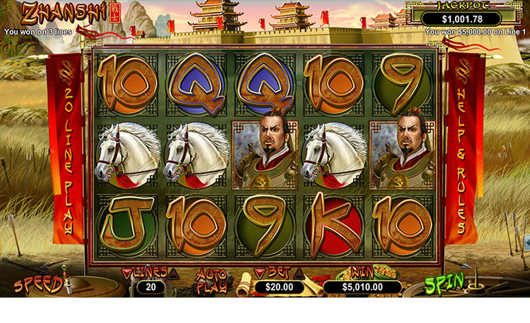 Intercasino Zhanshi Spin Game