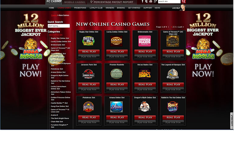 Lucky247 Casino New Games