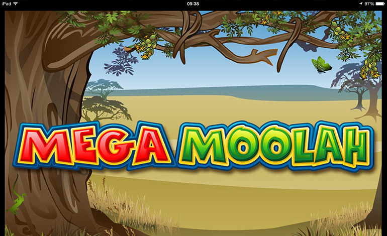 Mega Moolah on iPad