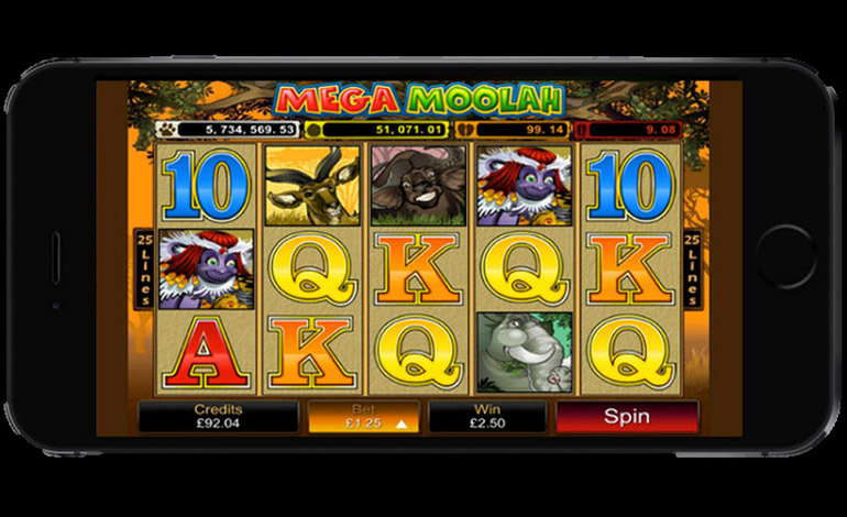 Mega Moolah on iPhone