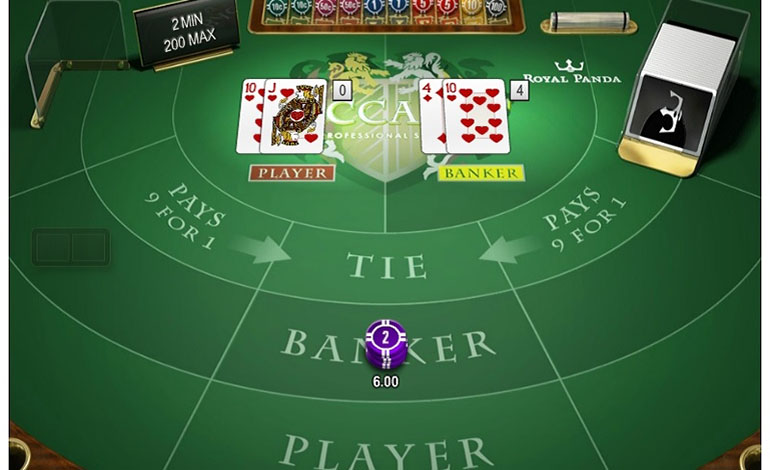 Royal Panda Casino Baccarat