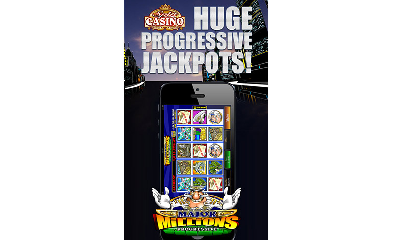 Spin Casino Hube Progressive Jackpots On Your Mobile