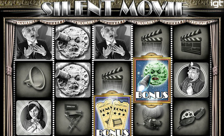 Spin Casino Silent Movie Game