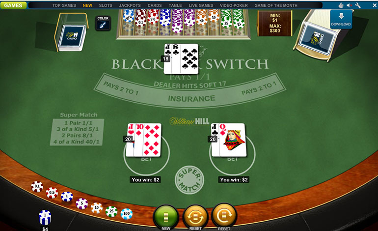 William hill casino games download