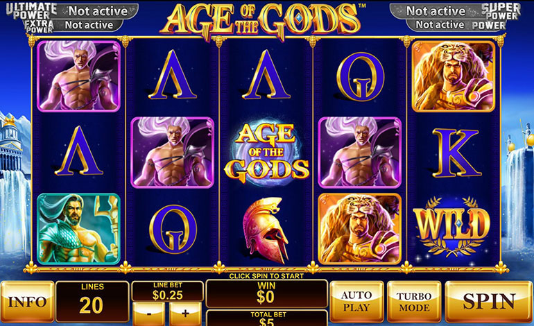 Winner Age Of Gos Spin Game