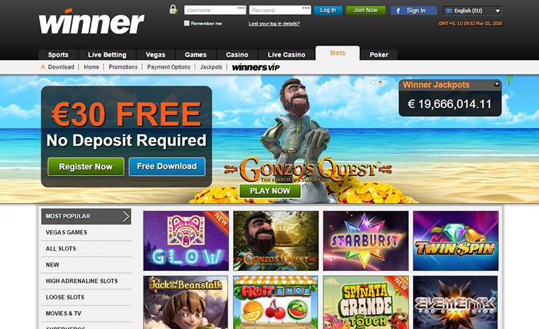 online casino winner casino gaming