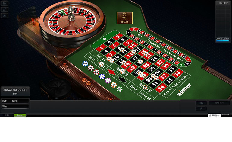 Winner Roulette Table
